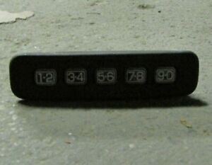 Keyless Entry Number Door Keypad Ford Lincoln Mercury