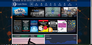 Crypto Currency News Website automated Content affiliate Products