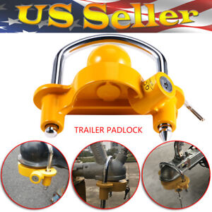Universal Trailer Hitch Coupler Trailer Lock Ball Steel 1 7 8 2 2 5 16 Us