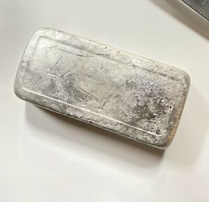 15 5 Lbs Pewter Metal Ingot Known As 92 Tin Used For Models Cast Beautiful