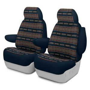 For Bmw 323ci 00 Southwest Sierra 1st Row Dark Blue Custom Seat Covers