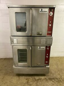 Southbend Double Stack Convection Ovens 208 Gas Tested