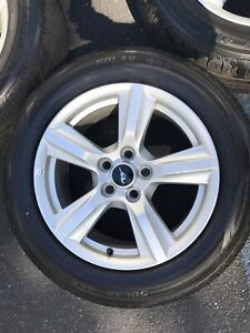 Ford Mustang Wheels And Tires 17 W Tpms