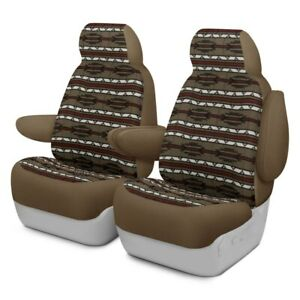 For Kia Soul 14 19 Southwest Sierra 1st Row Taupe Custom Seat Covers