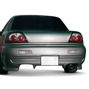 For Pontiac Grand Am 92 95 Type X Style Fiberglass Rear Bumper Cover Unpainted