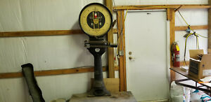 Antique Toledo Industrial Freight Scale Over 2 000 Lb Capacity