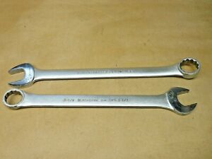 Open box End Wrenches proto 1 3 8 And Blackhawk 1 1 4