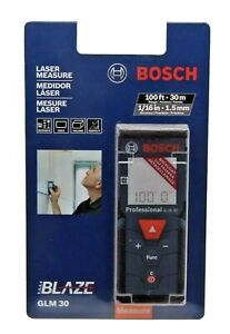 Bosch Glm 30 100ft 30m Laser Measure