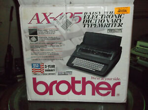 Brother Ax 425 New In Open Box Electronic Typewriter Office Typewriter