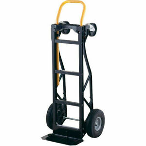 Hand Truck Heavy Duty Moving Dolly Convertible Lifting Rolling Warehouse Cart