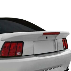 For Ford Mustang 99 04 Spoiler Custom Saleen Style Fiberglass Flush Mount Rear