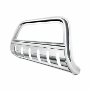 For Dodge Ram 1500 2006 2008 Steelcraft 72140 3 Polished Bull Bar W Skid Plate