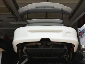 Porsche 996 Gt3 Cup Rs Rear Spoiler That Uses Custom Uprights 991 Gt3 Spoiler