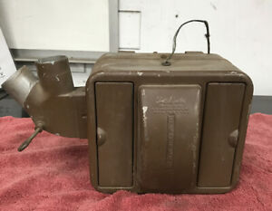 1939 Chevy Vintage Under Dash Heater Core fan Unit Tested Works