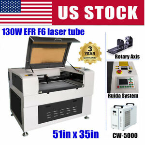 51x35in 130w Efr F6 Co2 Laser Cutter Fda Certificate With Auto Focus Function