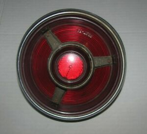 Vintage Stimsonite No 39r Frst 53 Red Plastic Tail Light 1953 Ford