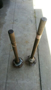 Ford Chevy Custom 33 Spline Axles For 9 Inch