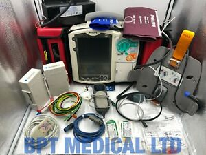 Philips Heartstart Mrx 12 Lead Ecg Spo2 Nbp Co2 Qcpr Aed Monitor Fully Loaded