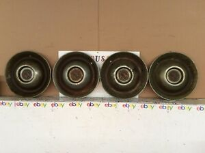 19471952 Cadillac Sombrero Hubcap Set Of 4 For Restoration Oem Nice Centers