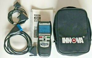 Innova 3130 Scan Tool Obd2 Tested Case Cables Manual Included