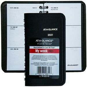 2021 At a glance 70 035 05 Weekly Pocket Planner 2 1 2 X 4 1 2 New