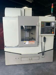 Monarch Mdt 24 Vertical Machining Center 24 X 12 Cnc Mill W Cat40 Fanuc 0imc