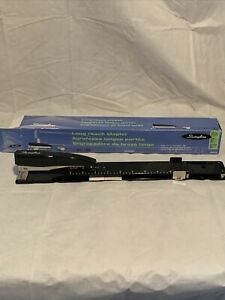 Swingline Long Reach Black Stapler 34121 In Original Box