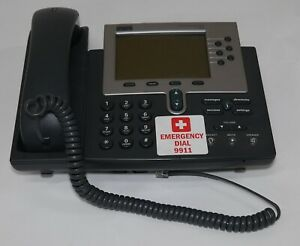 Cisco Cp 7960 47 7762 01 Ip Phone Network Phone Rj45