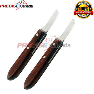 2 Pcs Dental Instrument Knife Type Buffalo Angelus Original 7r