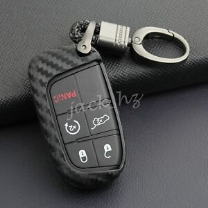 Key Fob Case Cover For Jeep Grand Cherokee Renegade Compass Durango Journey 500x