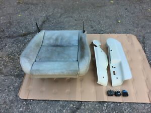 Bmw E34 M5 Oem Front Left Electric Sport Leather Seat Bottom Base Lower Side