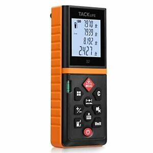 Tacklife Advanced Laser Measure 196 Ft Digital Laser Tape Measure With Mute And