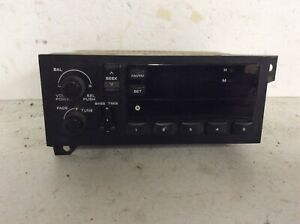 Vintage Plymouth Dodge Chrysler P4704307 Radio Stereo Out Of 92 Voyager Oem