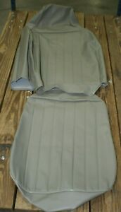 1968 1969 Vw Beetle Sedan Beige Basket Weave Front Seat Cover One Seat Only
