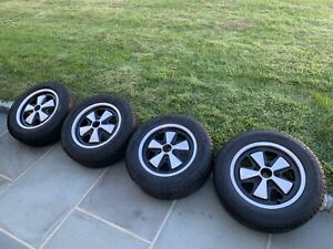 Porsche Fuchs Wheels 15x6 Set 1971 Date Early 911 Long Hood Rare