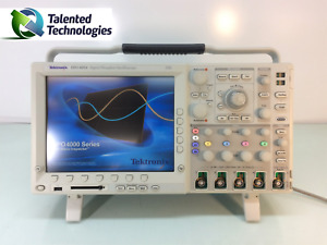 Tektronix Dpo4054 4 Ch Digital Phosphor Oscilloscope 500mhz No Probes Included