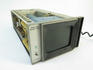 Tekktronix Type 602 Display Unit Cathode ray Tube crt Opt 1 2 70