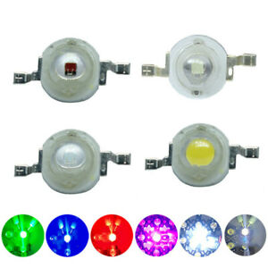 1w 3w High Power Led Diode Led Chip Smd Warm White Red Green Blue Yellow For Diy