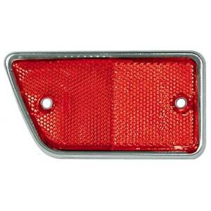 New 1968 69 Ford Pickup Reflector Body Side Red Lh Bronco F100 F250 Styleside
