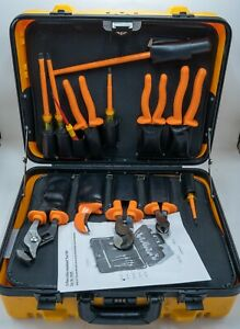 Klein 33525 13 Piece Insulated Tool Set With Case