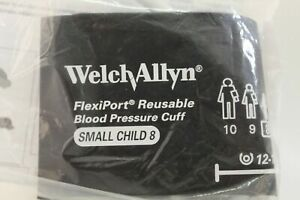 Welch Allyn Flexiport Reusable Blood Pressure Cuff Small Child Reuse 08 New