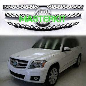 For Mercedes Benz Glk X204 Glk350 2010 2012 Front Grille Grill With Emblem