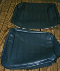 1958 1964 Vw Beetle Sedan Dark Blue Front Seat Cover one Seat Only