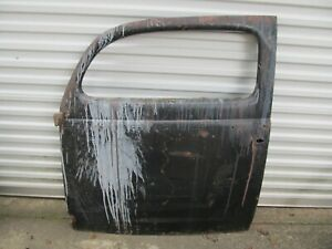 Original 1937 1938 1939 1940 Ford Sedan Lh Passenger Door Shell Modify For Coupe