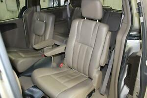 2012 Chrysler Town Country rear Seat 2nd Second Row Leather Tan Oem