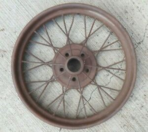 1926 1927 Model T Ford 21 Inch Wire Spoke Wheel Original 5 Lug 7