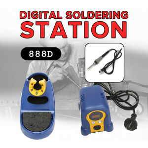 Fx 888d Digital Thermostatic Soldering Station Solder Iron Welder N