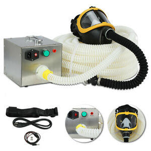 80w Constant Flow Airline Supplied Fresh Air Ventilator System Fullface Gas Mask