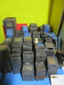 Erico Cable To Cable Graphite Welding Mold Lot Of 28 Pc