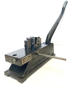 J f Jf Helmold Steel Cutting Creasing Rule Maker Metal Bender Usa